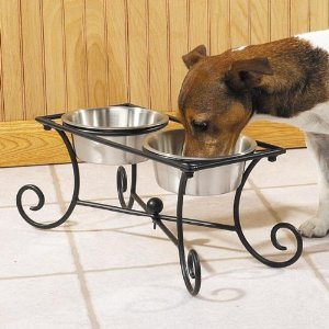 Best Wrought Iron Dog Feeders Best Rated Automatic Pet